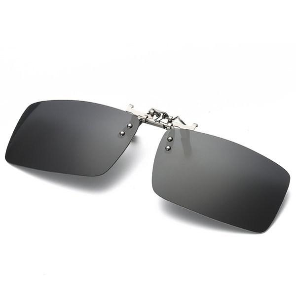Fashion Sunglasses Clip Myopia Polarized Unisex Ultra-light Lens On Sunglasses Anti-Scratch Clip Driving Goggles With Packaging