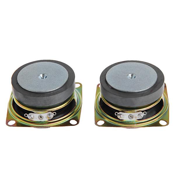 """Wholesale- 2pcs 2"""" inch 53mm 4Ohm 3W Full Range Audio Speaker Stereo Woofer Loudspeaker New"""