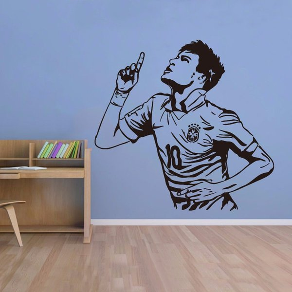 Nemal goal sports poster stickers decorated PVC art mural detachable football star children's room wall stickers DIY
