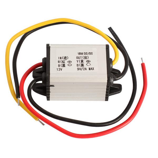 Al por mayor-1 PCS Car Charger DC Converter Module 12V a 9V 2A 18W DC a DC Buck Step Down Module envío gratis