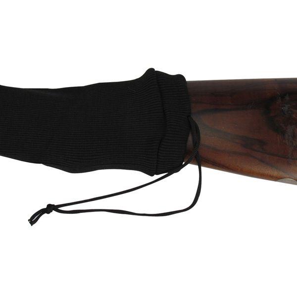 top popular Tourbon Tactical Black Rifle Firearm Sock Shotgun Cover Gun Protector for Hunting Shooting Silicone Coated 54 2020