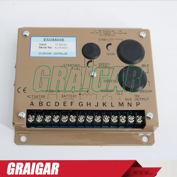 ESD5500E Generator Engine Speed Governor Controller