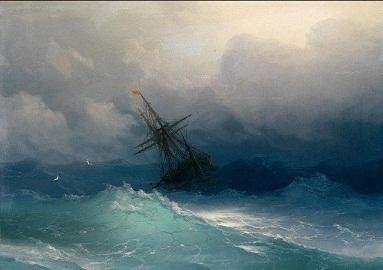 Framed Seascape storm ocean waves Perils of the sea wih ship,pure Hand Painted Seascape Art Oil Painting On Canvas.Multi sizes S022