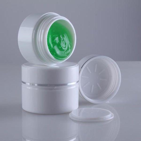 15G AS Double Layers Vuota vasetti cosmetici 30ml per contenitore in plastica crema con coperchio trasporto veloce F20171036