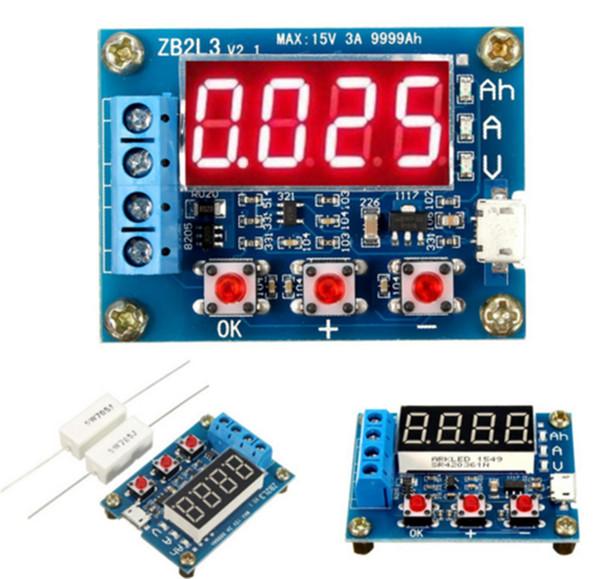 New Design 1.2v ~ 12v 18650 Li-ion Lithium Battery Capacity Tester Discharge Tester+ Resistance Lead-acid New