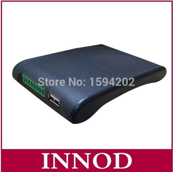 Venta al por mayor - larga distancia de 10cm-3m integrado uhf rfid lector de antena EPC Gen2 lector de rfid de escritorio pasivo uhf usb escritor con rs232 wiegand