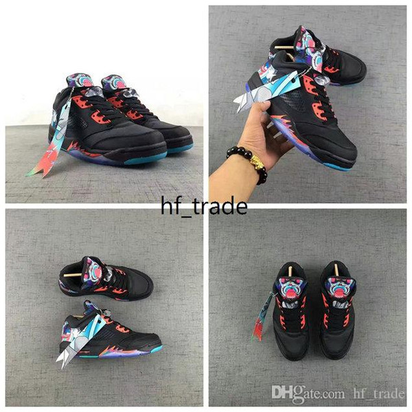 Wholesale Air Sport 5 Low CHINA Women Men CHINA Basketball Shoes 5s sneakers shoes sports size 5-12 Free shipping Sports Shoes