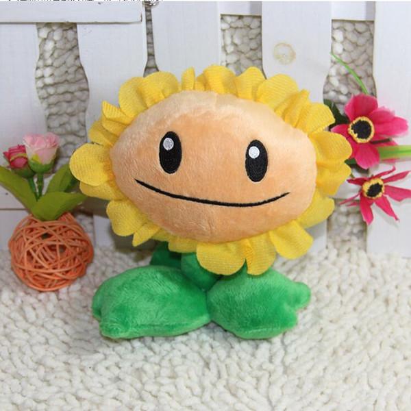 Kawaii Plants vs Zombies Pea Shooter Sunflower Squash Plush Toys Plants vs Zombies Soft Stuffed Animal Doll Baby Kids Gift