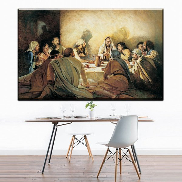 ZZ1735 modern canvas art christ remembrance of me walter rane canvas pictures oil art painting for home decor unframed prints
