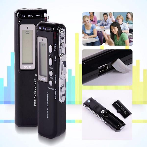 top popular HD Dictaphone 8GB Digital Voice Recorder 4GB Voice Activated USB Pen Digital Audio Voice Recorder With MP3 Player 2020