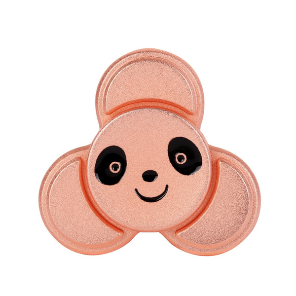 5pcs / lot 4 di colore Kung Fu Panda punta delle dita Gyro Fidget mano Spinner Spinner Finger EDC alleviare ADHD autismo stress Finger Gyro Toy Gifts