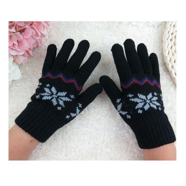 Wholesale- Unisex Children Knitted Winter Gloves Cashmere Soft Warm Mitten