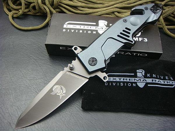 Spedizione gratuita Extrema Ratio Fighter zhandouji 3 cr13 coltello da campeggio all'aperto sopravvivenza pieghevole coltello strumenti EDC migliore regalo