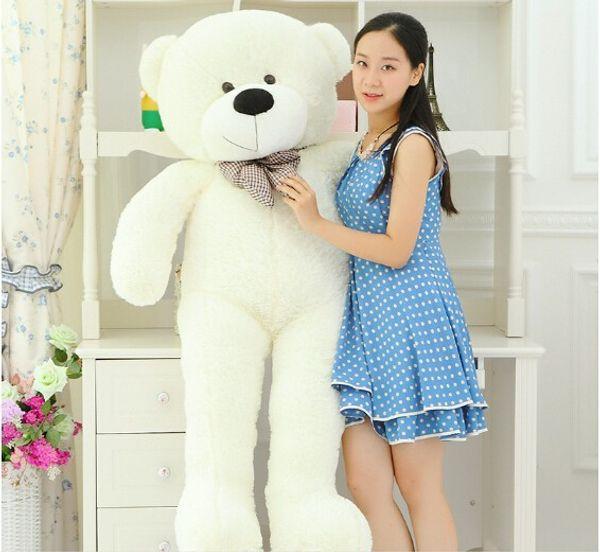 120CM Giant Teddy Bear Big Plush Toys Stuffed Ted Cheap Pirce Gifts for Kids Dolls Children Girlfriends Christmas