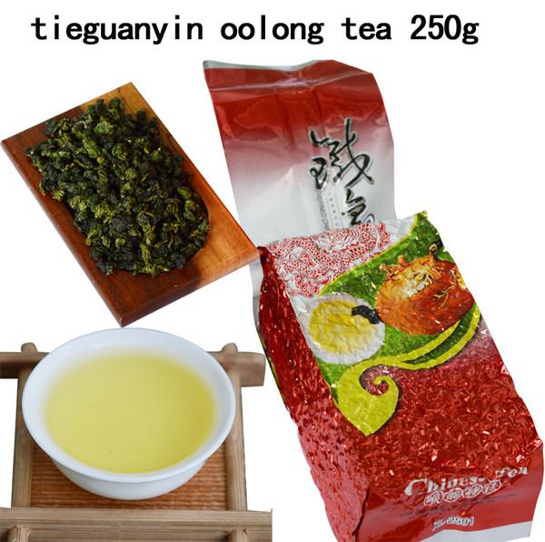 top popular Hot Selling 250g Tie Guan Yin Fragrance Oolong Tea Wulong Cha China Tea Top Grade Chinese Oolong Tea New Organic Free Shipping 2020