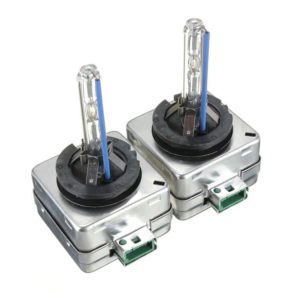 2017 Brand New 2 pcs 35 W D3S Xénon Phare Remplacement Usine Lampe Ampoules Couleur Paire