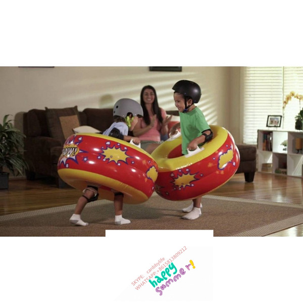 Tremendous Wholesale 2017 Hot Sale New Kids Intex Ka Pow Bumpers Tube Double Layer Inflatable Body Bumper Ball Fun Indoor Outdoor Play Bump Toys Outdoor Chair Dailytribune Chair Design For Home Dailytribuneorg