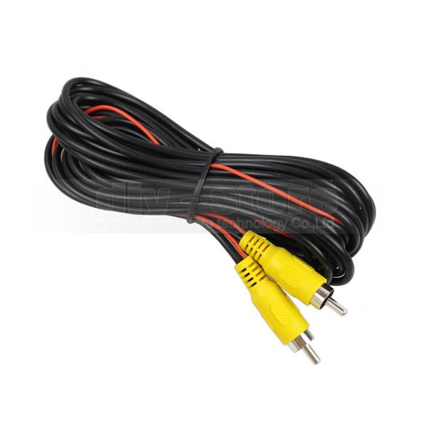 Cable de extensión AV RCA de 5 metros Cable de señal de audio / video para sistema de inversión de bus / camión / automóvil