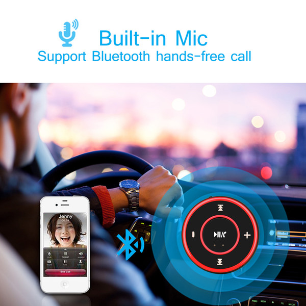 Bluetooth 3.0 Car Auto Audio Music Receiver Car Kit Wireless Video Player Handsfree Function Microphone USB for iPhone Android