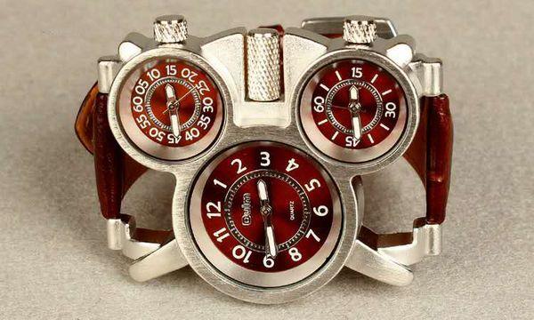 New Arrival Modern Fashion Mens Watches Top Brand Luxury Splendid Analog Quartz Wrist Sport Watch Free Shipping
