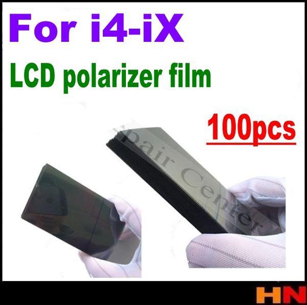 100 stücke original für iPhone X 4 4 s 5 5 s 5c se 6 6 s 7g i8 plus LCD Polarizer Polarizer Film Polarisationslicht Film