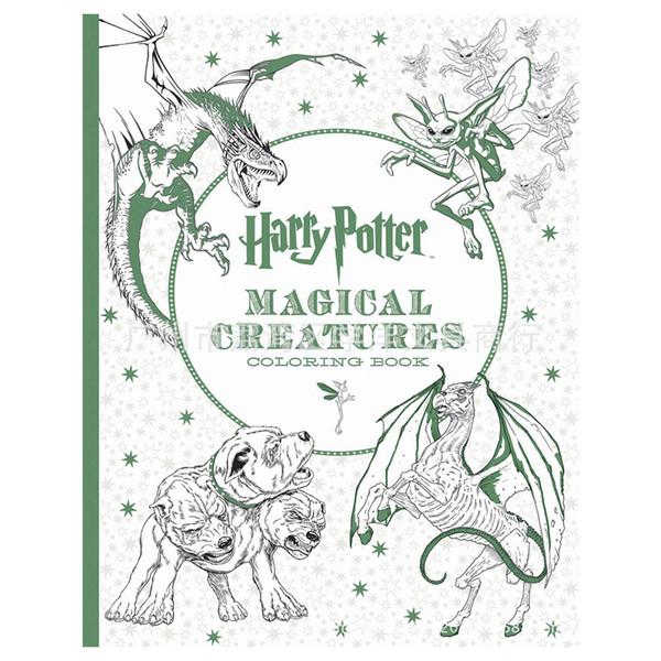 Compre 96 Páginas Harry Potter Libro Para Colorear Para Adultos ...