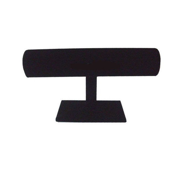 1pcs/lot T-Bar Black Velvet Watch Bracelet Jewelry Display Stand Holder Rack For Jewelry DS1* Free Shipping