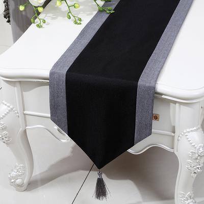 black 150 x 33 cm