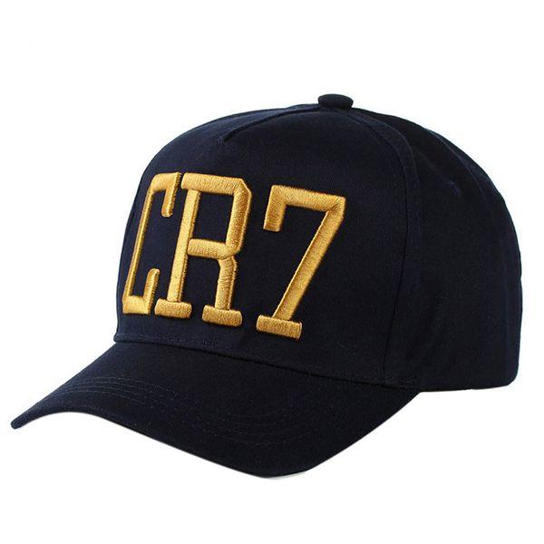 Wholesale- 2017 Newest Style Cristiano Ronaldo CR7 Hats Baseball Caps Hip Hop Caps Snapback Hats for Men Women High Quality