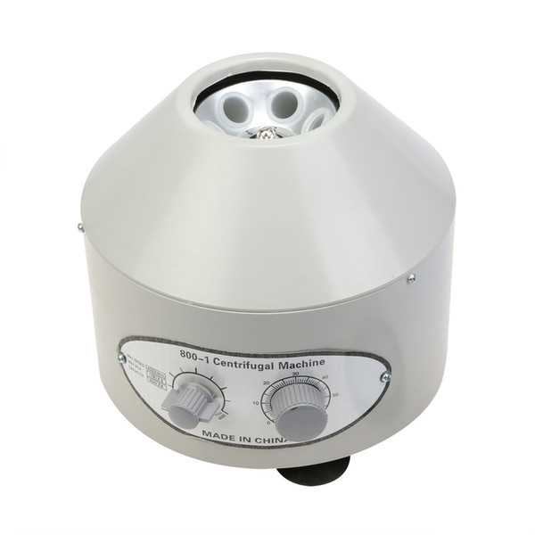 best selling Making-latest Model Desktop Electric Centrifuge Lab (Timer 0-60min) 0-4000 rpm Cap:20ml*6 (800-1) ELECTRIC CENTRIFUGE MACHINE