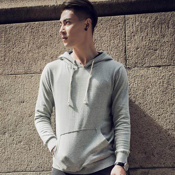 2017 nuovo arriva luce di lusso di alta qualità moda felpa con cappuccio uomo felpe casual abbigliamento sudaderas