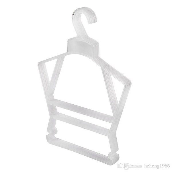 Thicken Plastic Clothes Hanger Baby Underwear Drying Rack Clothing Store Laundry Special Non Slip Suit Hangers Practical 0 58jt F R