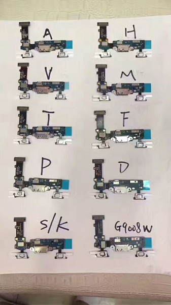 For Samsung Galaxy S5 G900A G900V G900T G900P G900S/K G900H G900G G900D Charger Charging Port Dock Connector Micro USB Port Flex Cable