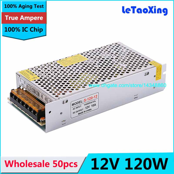 Sub Mini Switching Power Supply Transformer Regulated 110-220V 120W 12V 10A