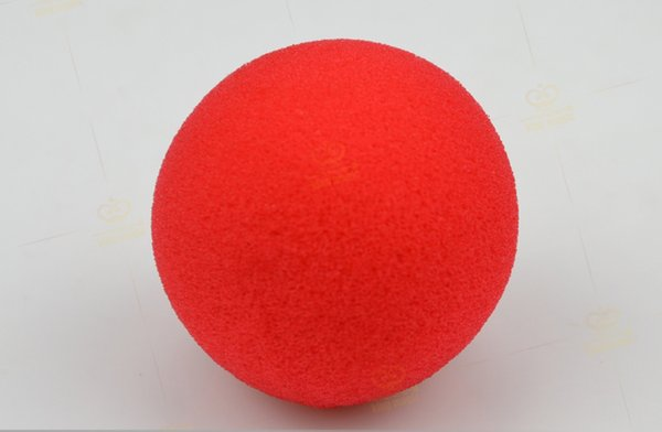 Factory Price 4PCS Magic Red Sponge Foam Ball Clip Circus Clown Nose Comic Party/Christmas party as gift
