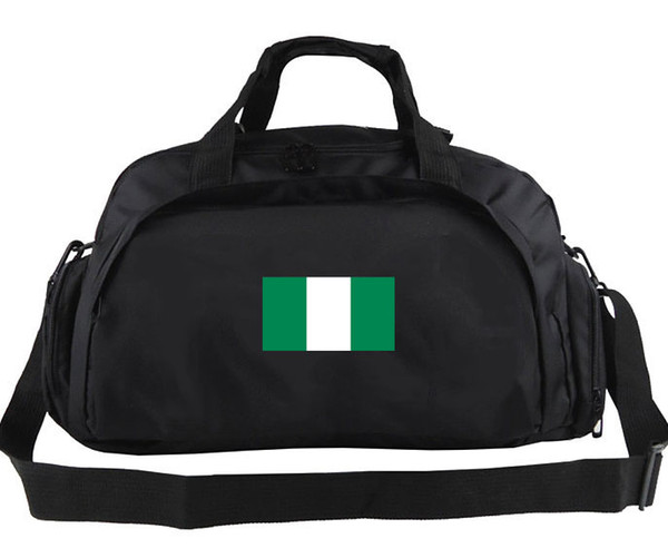 Nigeria duffel bag Guide exercise tote Best Country team flag luggage Football club duffle Handle backpack Sport sling handbag