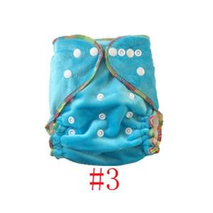 Minky Blue Dots Reusable Baby Infant Nappy Modern Cloth Diapers and Insert