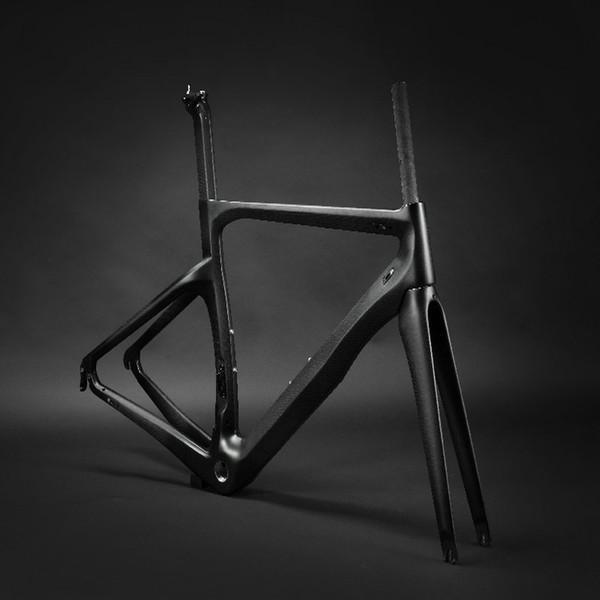 7 days delivery OEM 1k or 3k china road bike carbon frame BOB bicycle carbon framework super light cycling bike frame set free shipping