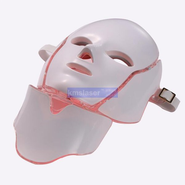 Hot new product IPL light therapy Skin rejuvenation led neck mask with 7 colors for home use