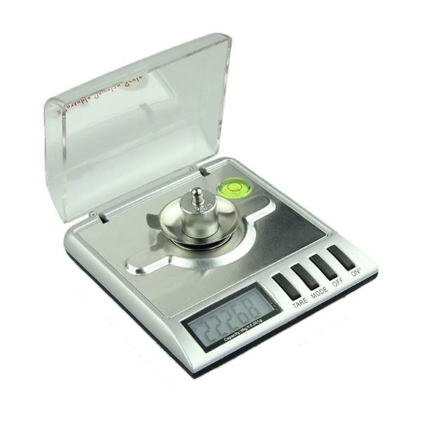 Venta al por mayor-venta nueva 0.001g x 30g Mini balanza digital de joyería Miligramo Gramo Pesaje preciso Peso Familias saludables