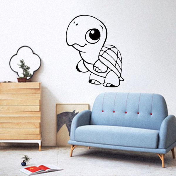 Acquista New Style Turtle Stickers Adesivi Murali In Vinile Home ...