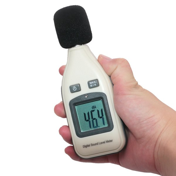 LCD Digital Audio Sound Noise Level Meter Decibel Monitor Pressure Tester Electric Noise Measuring Instruments order<$18no track