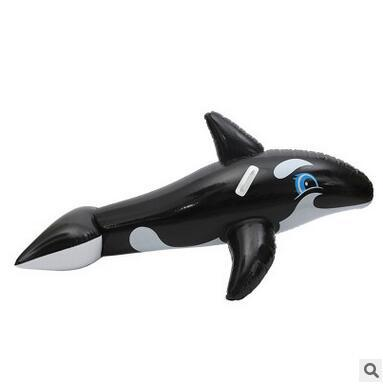 Shark Inflatable Float Swim Ring Kids Water Toys Swimming Seat Toys Beach Toys Animal Sharp Inflatable Float Rider Pool Tube