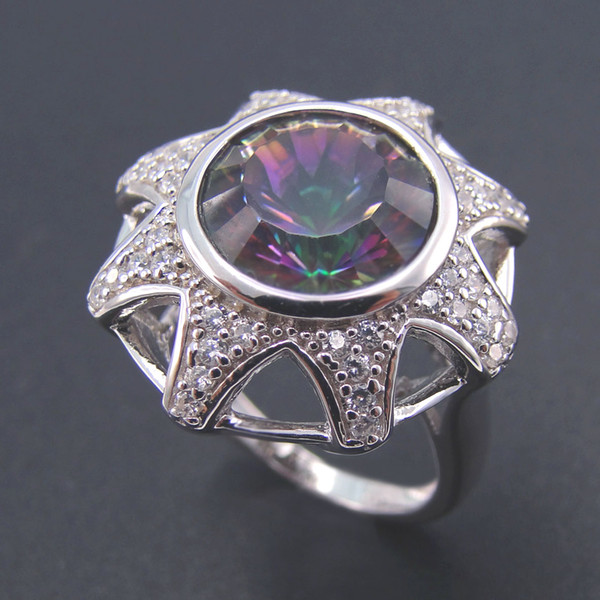 New fashion jewelry 925 silver australian wholesale jewelry rings Rhodium plating DR0300930R-11 size5 Freeshipping