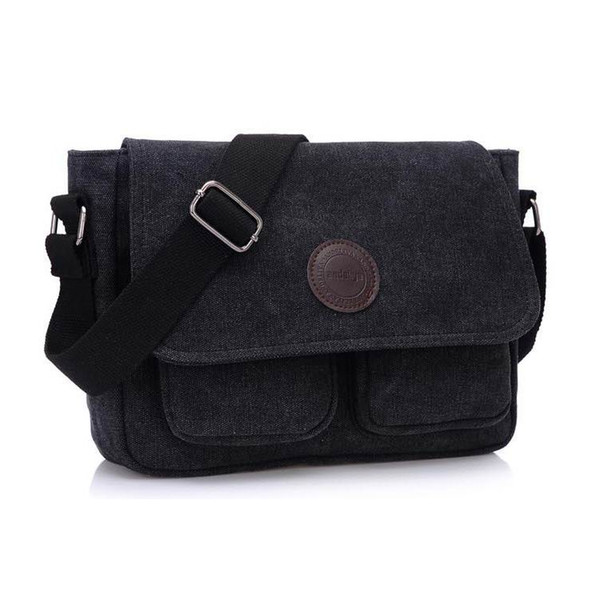 New Casual Vintage Messenger Bag Retro Leisure Business Shoulder Crossbody  Bag High Quality Canvas Messenger For Men a400446859