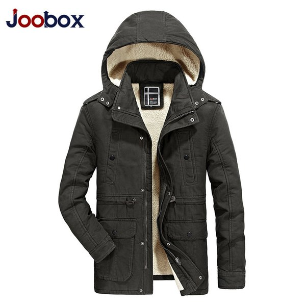 Men Winter Parkas Cotton Padded Jacket Fur Hooded Military Coats Snow Clothes High Quality Outwear Windbreakers 2017 New Arrival