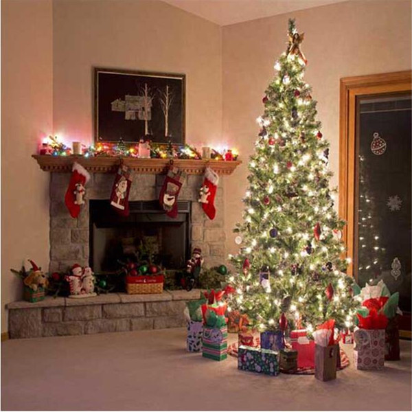 premium selection 59da8 8a732 2019 Indoor Fireplace Sparkling Christmas Tree Photography Background Gift  Boxes Digital Printed Family Children Photo Studio Backdrops Vinyl From ...
