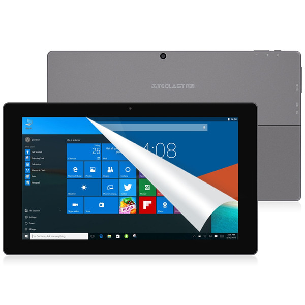 All'ingrosso - Teclast Tbook16s Dual Boot Android 5.1 + Windows 10 Intel X5 Z8300 1,44 GHz 4 GB RAM + 64 GB ROM 11,6 pollici 1920 x 1080 IPS Tablet