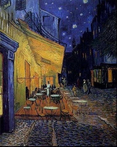 Compre Enmarcado Vincent Van Gogh Terraza Del Café En La Noche Café Del Siglo 19 Pintado Pintura De Paisaje Del Aceite Del Arte De La Mano Pura De La