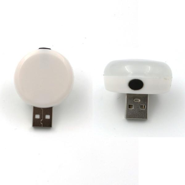 Wholesale- 2pc/lot Portable LED Light Bulb USB Light Lamp Eye-protection Reading Book Light Table Lamp USB Gadget Camping Bulb Line,T Shape